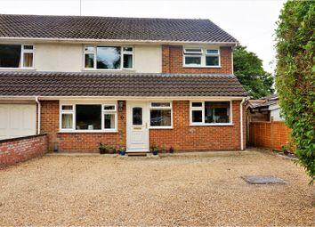 Thumbnail 4 bedroom semi-detached house for sale in Darlington Road, Basingstoke