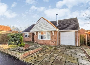 Thumbnail 3 bed detached bungalow for sale in Muirfield Way, Woodhall Spa