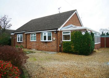 Thumbnail 3 bed detached bungalow for sale in The Street, Marham, King's Lynn