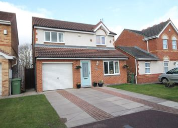Thumbnail 3 bed detached house for sale in Lorne Court, Stockton-On-Tees