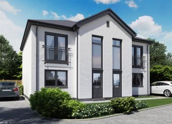 Thumbnail 2 bed semi-detached house for sale in Napierston Gate, Alexandria, West Dunbartonshire