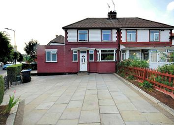 Thumbnail 4 bedroom semi-detached house for sale in Queensbury Road, Wembley, Middlesex