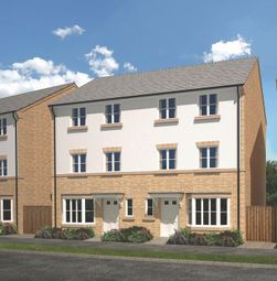 Thumbnail 4 bed town house for sale in The Roxburgh, Savernake Drive Little Stanion, Corby