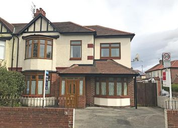 Thumbnail 5 bed semi-detached house for sale in King George Road, South Shields