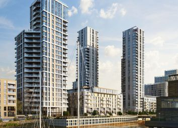 Thumbnail 1 bed flat for sale in Olympian Way, London