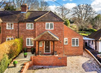 Thumbnail 4 bedroom semi-detached house for sale in Rowtown, Surrey