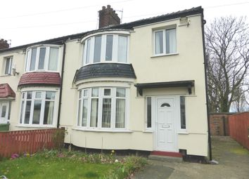 Thumbnail 3 bed semi-detached house for sale in Harrow Road, Stockton-On-Tees