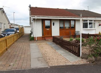 Thumbnail 2 bed semi-detached bungalow for sale in 4, Bodmin Gardens, Moodiesburn, Glasgow