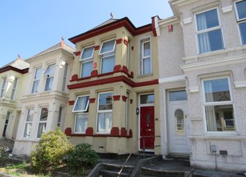 Thumbnail 4 bed terraced house for sale in Beresford Street, Stoke, Plymouth