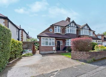 Thumbnail 3 bed semi-detached house to rent in Manor Crescent, Berrylands, Surbiton