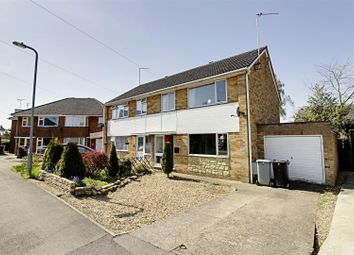 Thumbnail 3 bed semi-detached house for sale in Rycroft Close, Deeping St. James, Peterborough