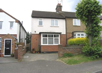 Thumbnail 3 bed semi-detached house for sale in Bournehall Lane, Bushey