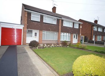 Thumbnail 3 bed semi-detached house for sale in Lyndale Avenue, Eastham, Wirral
