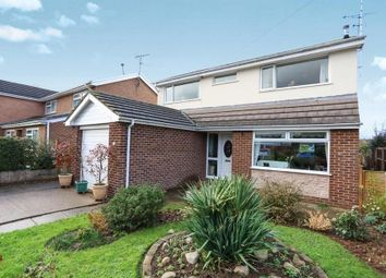 Thumbnail 4 bedroom detached house for sale in Worcester Road, Bangor On Dee, Wrexham