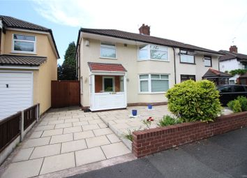 Thumbnail 3 bed semi-detached house for sale in Willow Avenue, Huyton, Liverpool, Merseyside