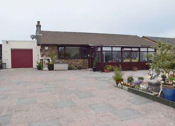 Thumbnail 4 bed detached bungalow for sale in Polgine Lane, Troon, Camborne