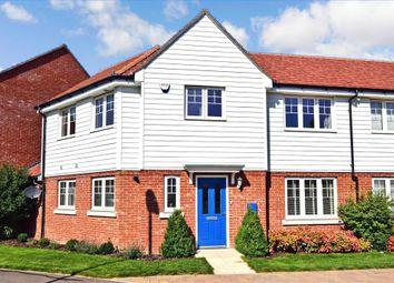 Brambling Avenue, Finberry, Ashford, Kent TN25. 3 bed terraced house