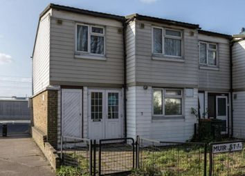 Thumbnail 3 bed end terrace house for sale in Muir Street, Silvertown, London E16 2Hl