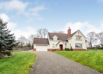 Thumbnail 6 bed detached house for sale in Cilcain Road, Pantymwyn