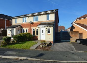 Thumbnail 3 bedroom semi-detached house for sale in Tamar Close, Whitefield, Manchester