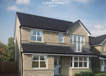 Thumbnail 4 bed detached house for sale in Kinghorn Loch, Kinghorn, Burntisland, Fife