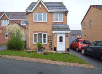 Thumbnail 3 bed detached house for sale in Bracken Road, Shirebrook, Mansfield