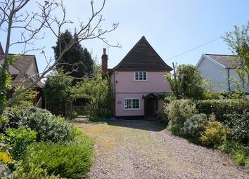 Thumbnail 2 bed detached house for sale in The Street, Capel St. Mary, Ipswich
