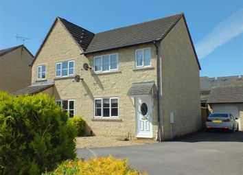 Thumbnail 3 bed semi-detached house for sale in Chaffinch Drive, Trowbridge, Wiltshire
