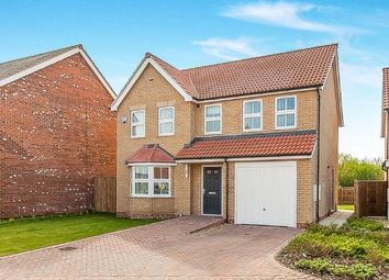 Thumbnail 4 bed detached house for sale in Sir Isaac Newton Drive, Wyberton, Boston, Lincolnshire