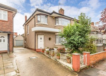 Thumbnail 3 bed semi-detached house to rent in Herent Drive, Clayhall, Ilford