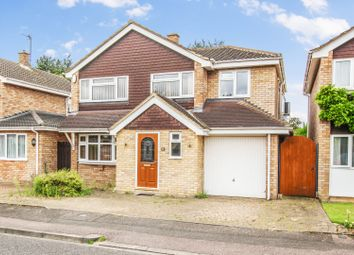 Thumbnail 4 bed detached house for sale in Purbeck Close, Bedford