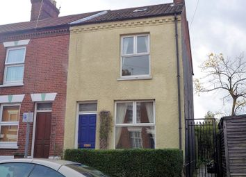 Thumbnail 3 bedroom end terrace house to rent in Hill Street, Norwich