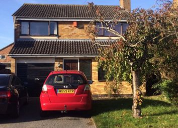 Thumbnail 3 bed detached house to rent in Sutton Close, Oadby Leicester