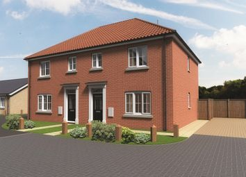 Thumbnail 3 bed semi-detached house for sale in Sewell Gardens, Old Catton, Norwich