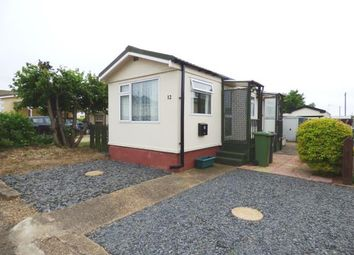 Thumbnail 1 bed mobile/park home for sale in Beverley Court, Pioneer Park, Eye, Peterborough
