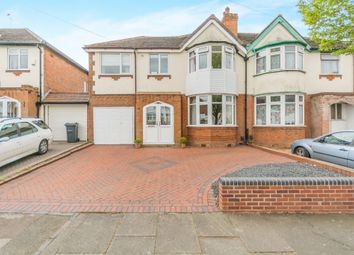 Thumbnail 4 bed semi-detached house for sale in Barton Lodge Road, Hall Green, Birmingham