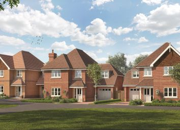 Thumbnail 4 bed detached house for sale in The Bramblings, Nork Way, Banstead