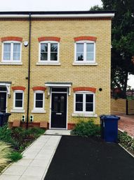 Thumbnail 3 bed end terrace house to rent in Ealing Road, Northolt