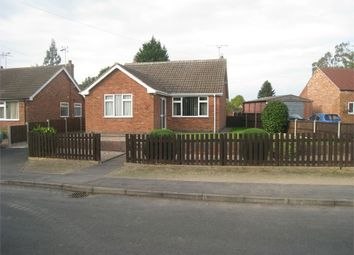 Thumbnail 2 bedroom detached bungalow for sale in Old Mill Road, Broughton Astley, Leicester