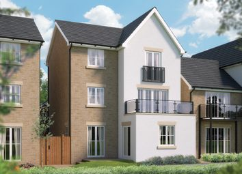 "Thumbnail 4 bed detached house for sale in ""The Woodbury"" at Chard Road, Axminster"