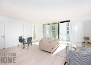 Thumbnail 1 bed flat for sale in Starboard Way, Royal Wharf, London