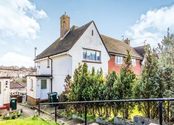 Thumbnail 2 bed flat for sale in Drove Crescent, Portslade, Brighton