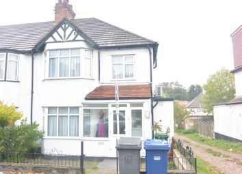 Thumbnail 3 bed semi-detached house to rent in Boyne Avenue, Hendon