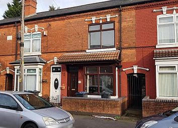 Thumbnail 3 bed terraced house for sale in Kenilworth Road, Handsworth, Birmingham