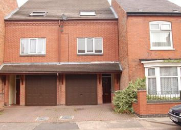 Thumbnail 3 bed town house for sale in Stafford Street, Off Harrison Road, Leicester