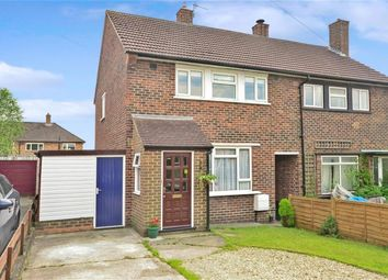 Thumbnail 2 bedroom semi-detached house to rent in Dundrey Crescent, Merstham, Surrey