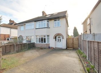 Thumbnail 4 bed semi-detached house for sale in Warren Road, New Haw, Surrey