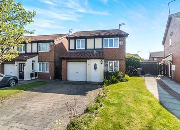 Thumbnail 3 bed detached house for sale in Dearham Grove, Northburn, Cramlington