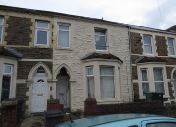 Thumbnail 6 bed terraced house for sale in Llantrisant Street, Cathays, Cardiff