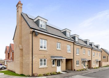 Thumbnail 4 bedroom end terrace house for sale in Sassoon Drive, Royston, Hertfordshire
